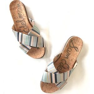 090eb162f4c00 Sam Edelman Hattie Criss Cross Sandals Size 9